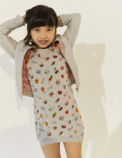 Girls' grey dress - IKKS Junior